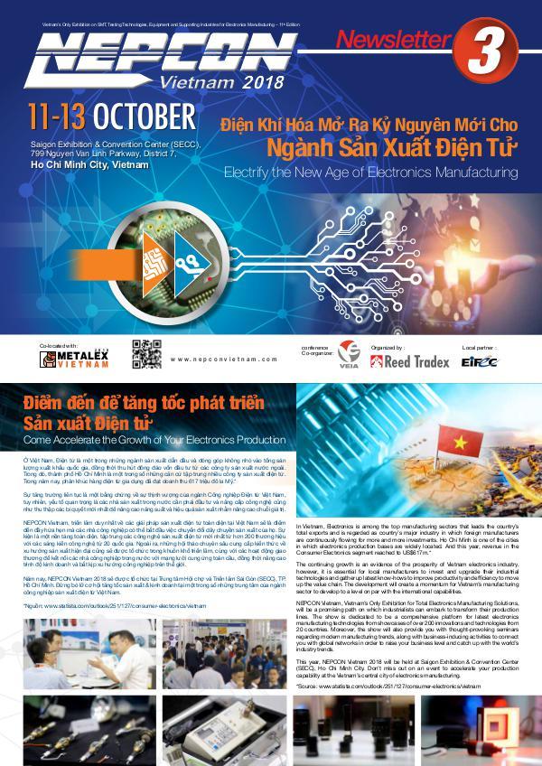 NEPCON Vietnam 2018 Newsletter #3 NEV_2018_NEWSLETTER#3_lowres