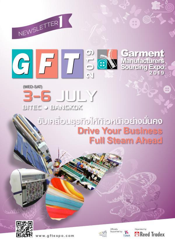 GFT19 Newsletter#1 GFT_2019_NEWSLETTER#1_lowres