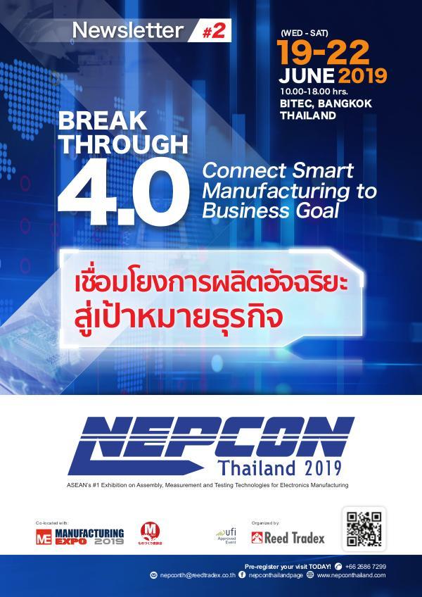 NEPCON Thailand 2019 Newsletter #2 NEPCON Thailand 2019 Newsletter #2