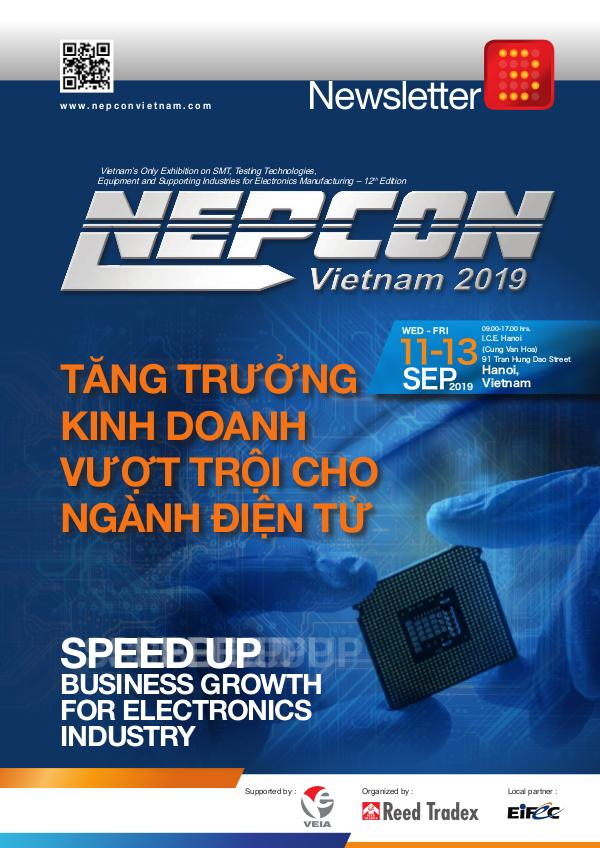 NEPCON Vietnam 2019 Newsletter #3 NEV 2019_Newsletter#3