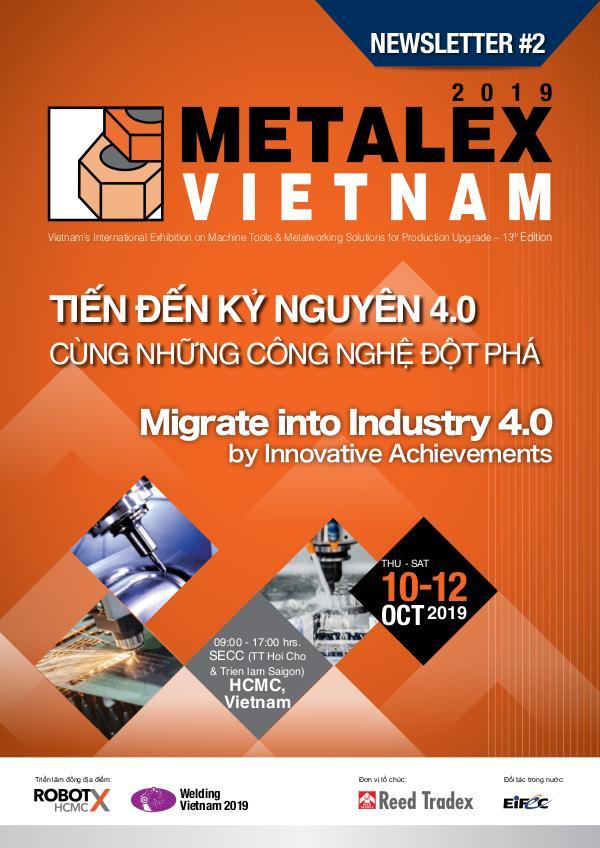 METALEX Vietnam 2019 Newsletter #2 MXV_2019_Newsletter#2 Updated