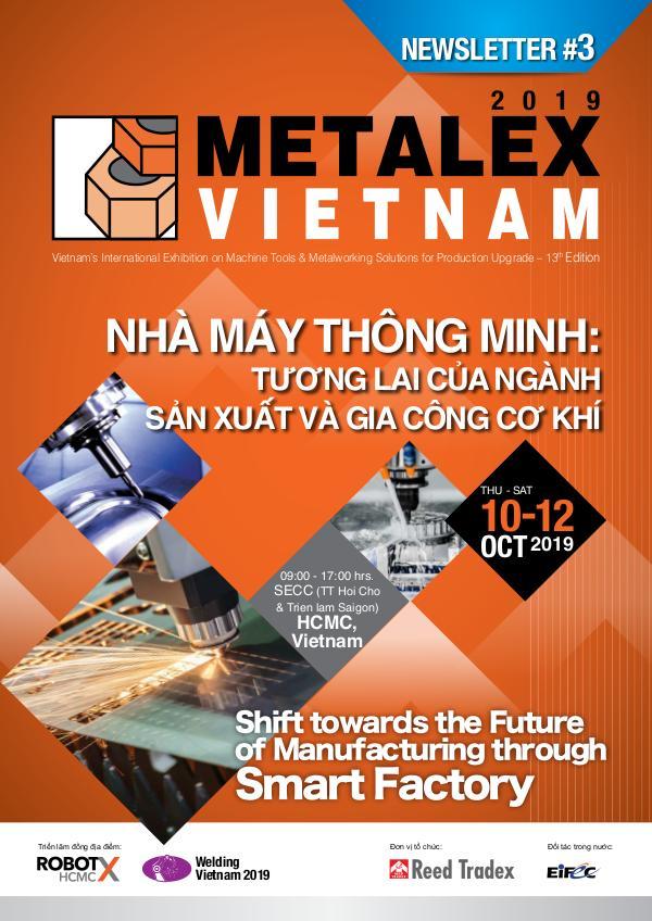 METALEX Vietnam 2019 Newsletter #3 METALEX Vietnam Newsletter#3
