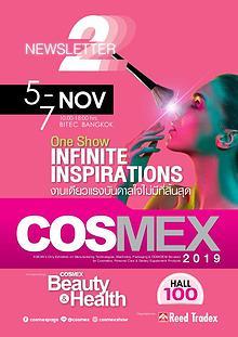 COSMEX 2019 Newsletter#2