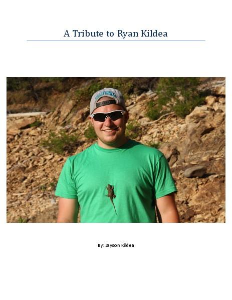 A Tribute to Ryan Kildea.pdf Jun. 2014