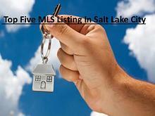 Top Five MLS Listing In Salt Lake City