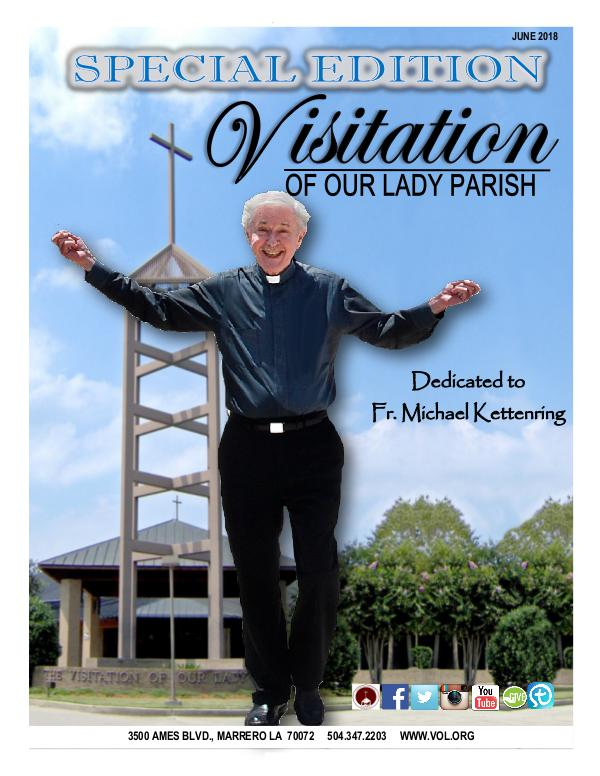 Visitation of Our Lady Parish Monthly Newsletter
