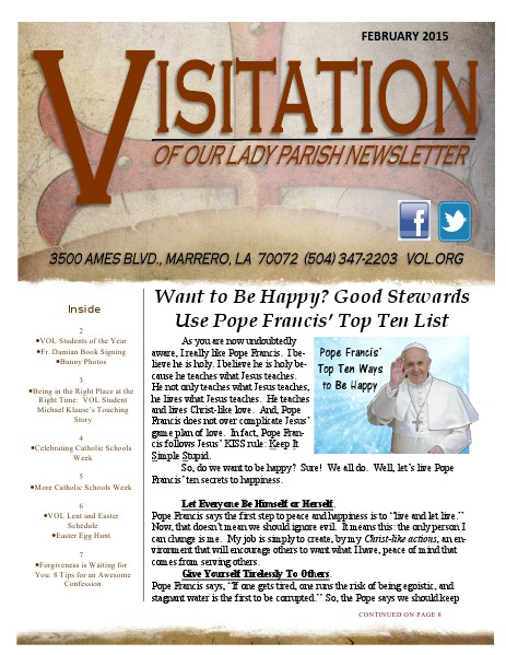 June 2018 SPECIAL EDITION February 2015 Issue