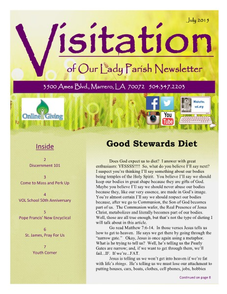 June 2018 SPECIAL EDITION July 2015 Issue