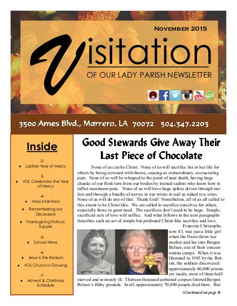 June 2018 SPECIAL EDITION November 2015 Issue
