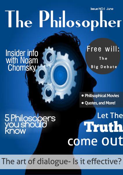 The Philosopher- Final evaluation assignment Jun,  2014