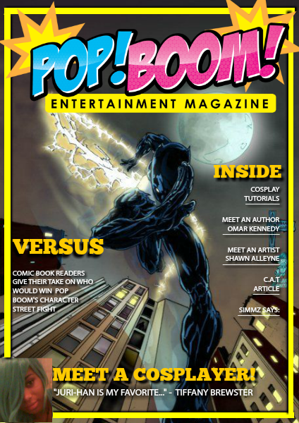 Pop Boom Entertainment Magazine Pop Boom Entertainment Issue 1 July 2014