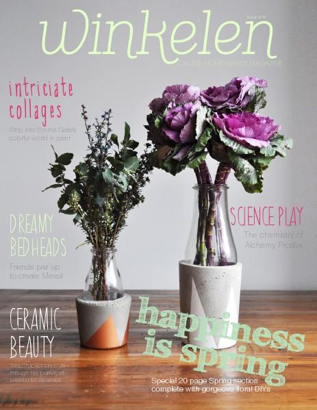 Winkelen homewares magazine issue 2 Winkelen October 2014