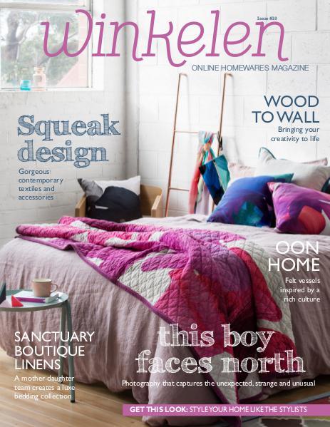 Winkelen homewares magazine issue 2 Winkelen magazine November 2015