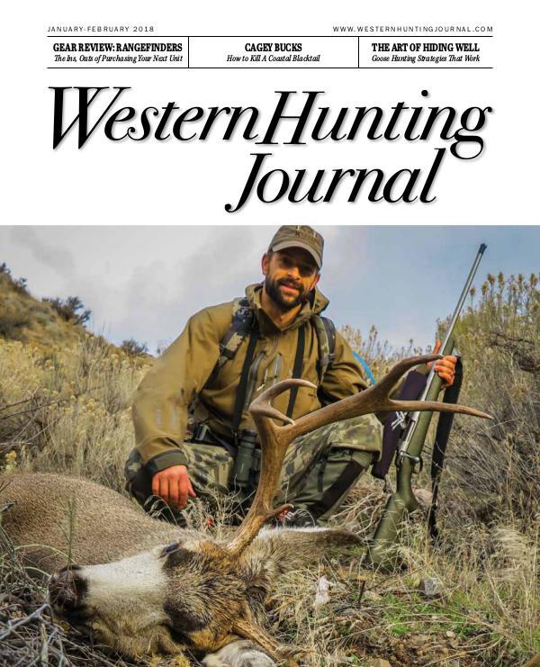 Western Hunting Journal, Premiere Issue whj001_premiere