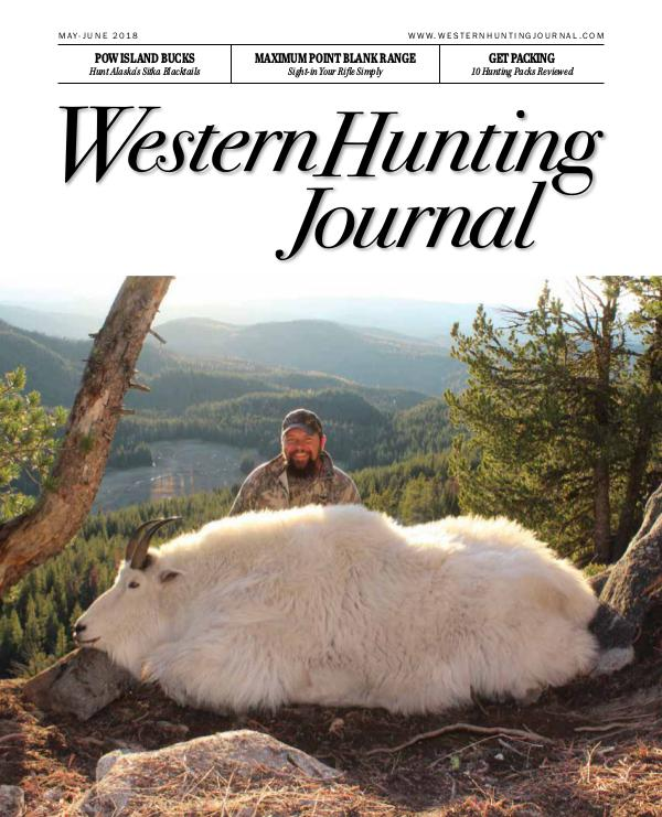 Western Hunting Journal, Vol. 1, Issue 3 whj013_final