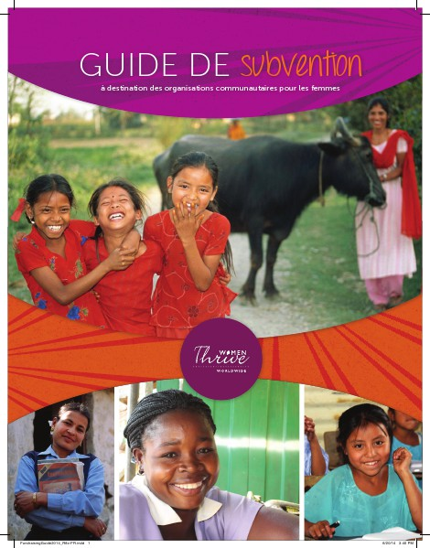 Fundraising Guide (French) June 2014
