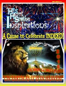 His Heart Scribe Inspirations Devotional Magazine January 2015