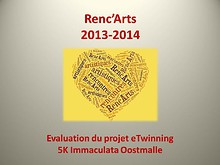 Projet eTwinning Renc`Arts - Evaluation