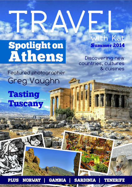 TRAVEL with Kat Summer 2014, Digital Travel Magazine