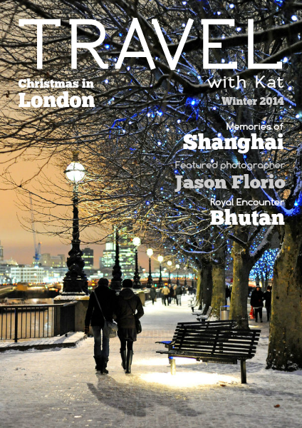 TRAVEL with Kat Winter 2014, online travel magazine