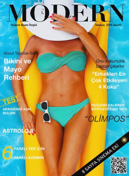 Modern Dergi Temmuz 2014