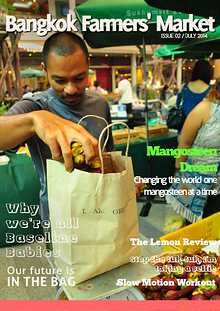 Bangkok Farmers Market Magazine July 2014
