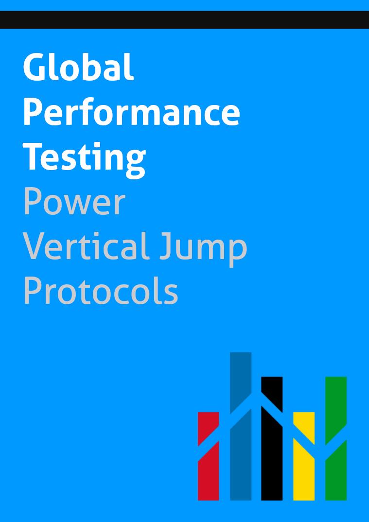 Global Performance Testing - Protocols Vertical Jump