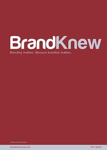 BrandKnew September 2013