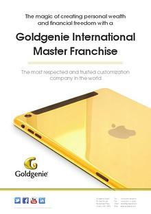 Goldgenie Master Franchise Brochure
