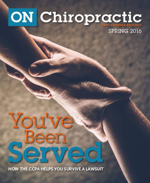 ON Chiropractic Spring 2016