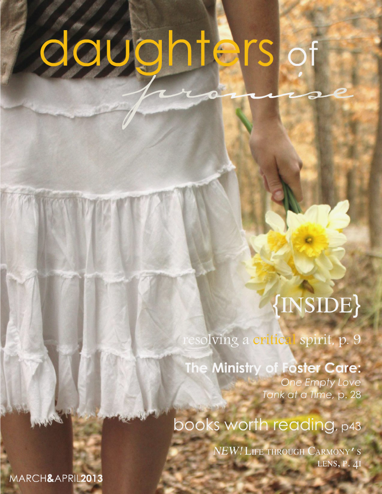 Daughters of Promise March/April 2013