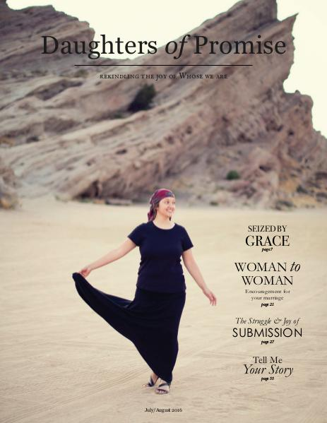 Daughters of Promise July/August 2016