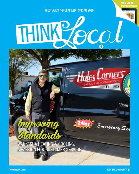 THINKlocal West Allis / Greenfield - Spring 16'