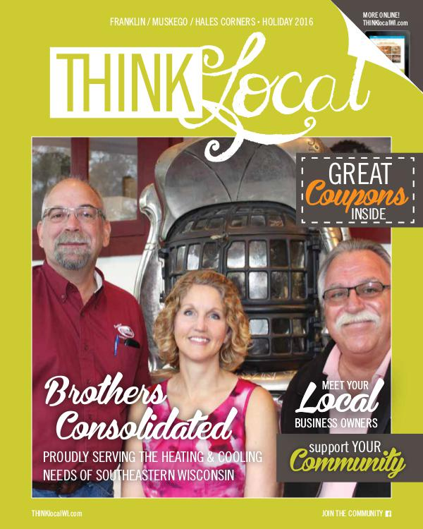 THINKlocal Franklin / Muskego / Hales Corners -  Holiday '16