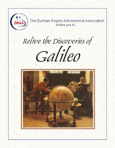 Relive the Discoveries of Galileo September 2014