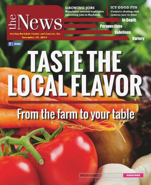 Rockdale News Digital Edition November 19, 2014