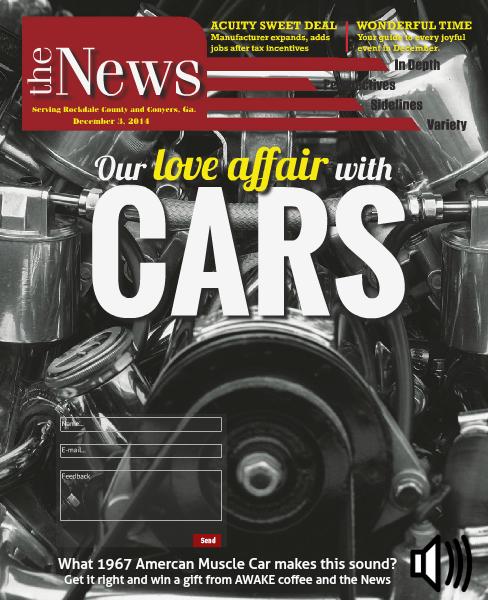 Rockdale News Digital Edition December 3, 2014