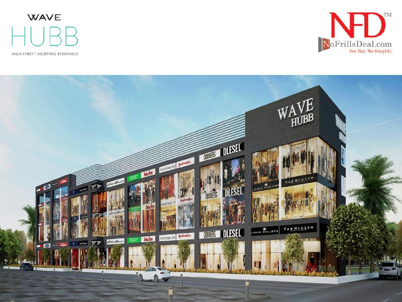 Wave Hubb offer commercial & retail business places Wave hubb Sector 18 Noida