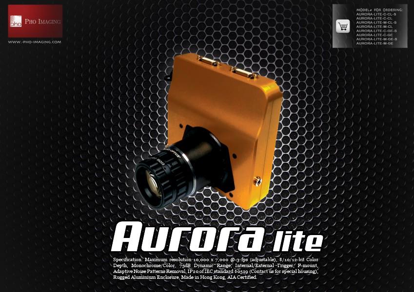 Ultra HD Camera | Aurora lite 70MP@3fps with real-time accessibility | Pho Imaging Ultra HD Camera | Aurora lite | Jun. 2014