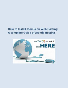 How to Install Joomla on Web Hosting