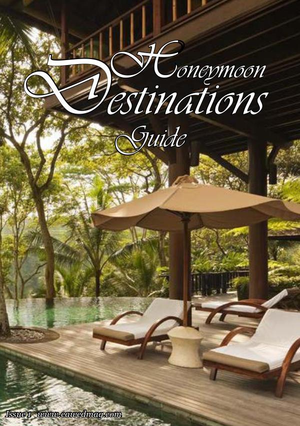 Honeymoon Destination Guide Honeymoon Destinations Guide 1