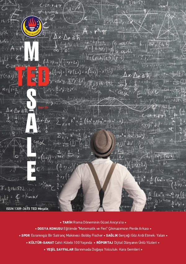 TED Meşale Dergisi 25. Sayı
