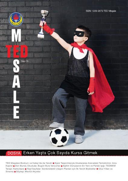 TED Meşale Dergisi Aralık 2012 15. Sayı