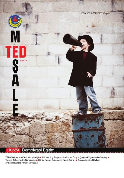 TED Meşale Dergisi Aralık 2011 13. Sayı