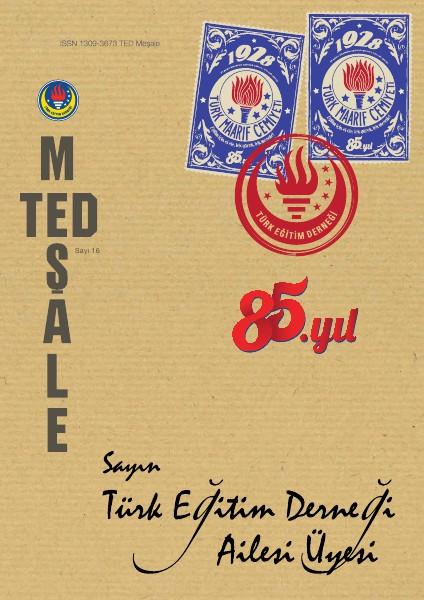 TED Meşale Dergisi Haziran 2013 16. Sayı
