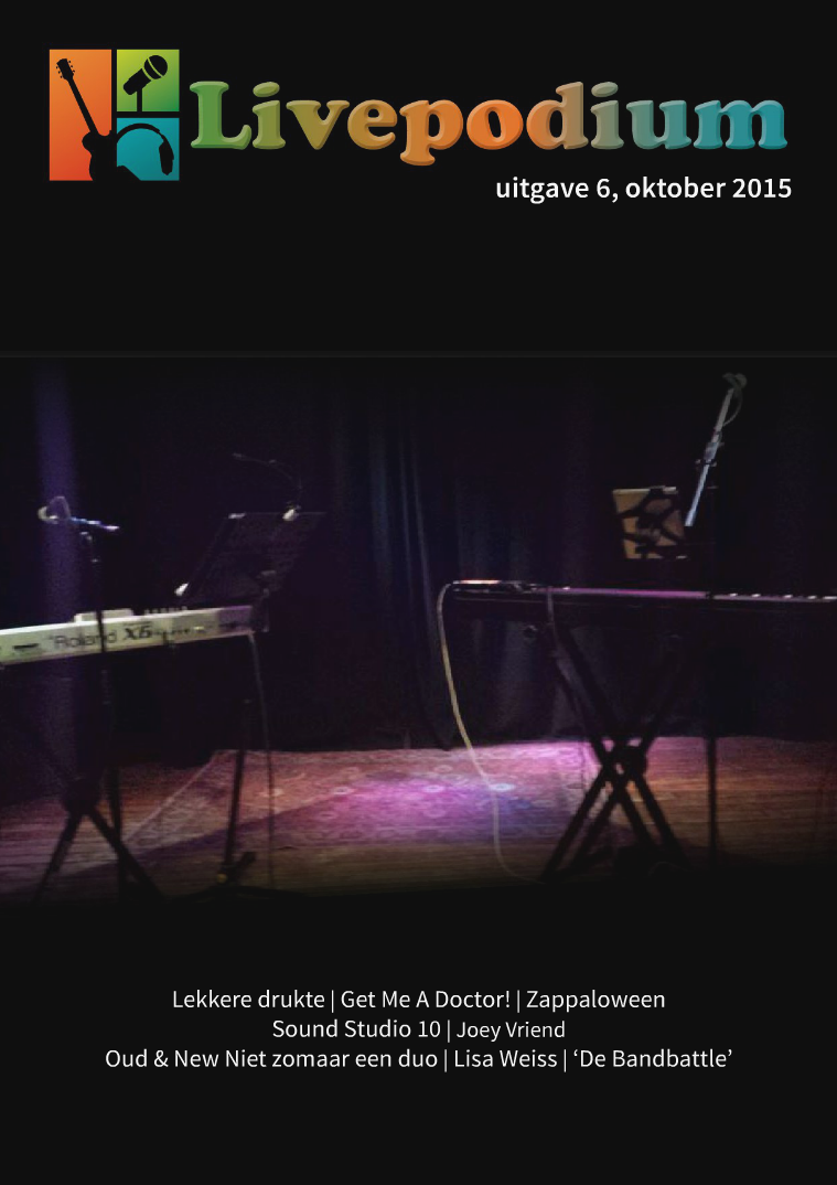 Uitgave 6, oktober 2015