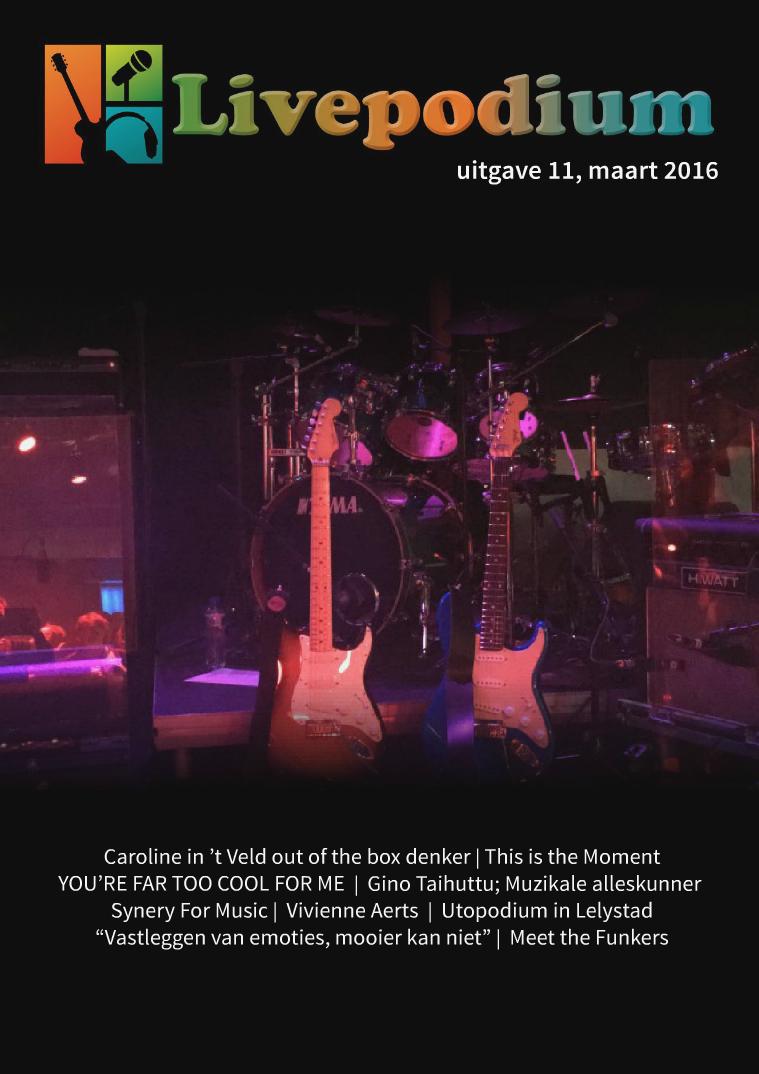Uitgave 11, maart 2016