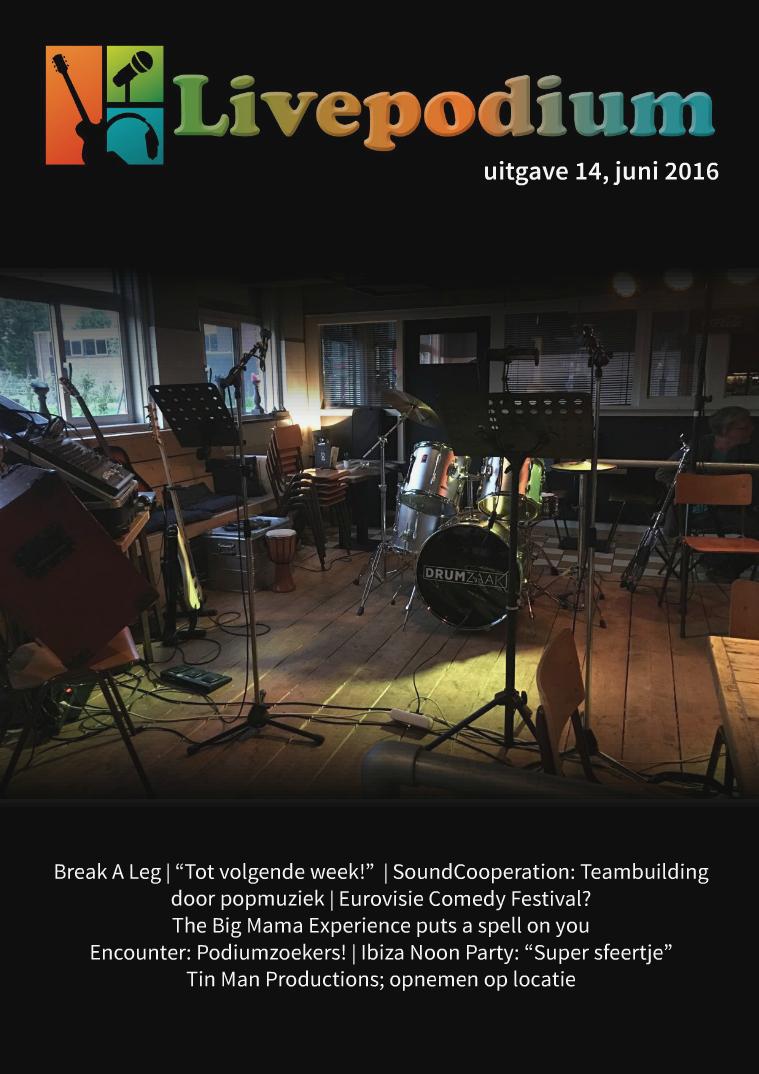 Uitgave 14, juni 2016