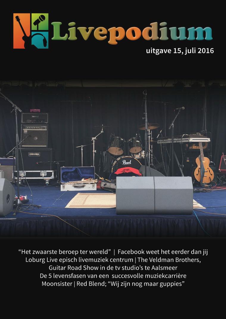 Uitgave 15, juli 2016
