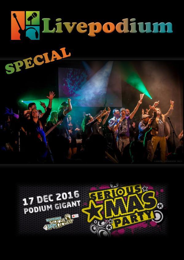 Extra editie Livepodium Serious Xmas Party!